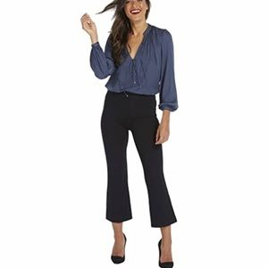 SPANX The Perfect Black Pant Crop Flair